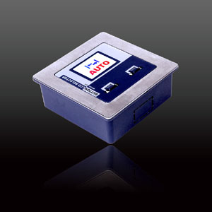 Five-range Button LCD Selector